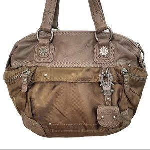 George Gina & Lucy Brown/Olive Green Bag